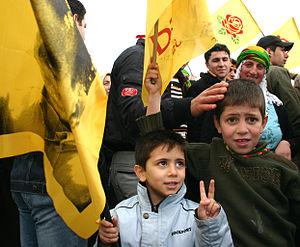 Nowruz - Newroz in Istanbul, Turkey