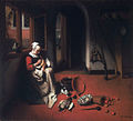 Nicholas Maes- Woman Plucking a Duck-1656.jpg