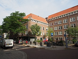 Amsterdam-West - Nickeriestraat, Postjesbuurt