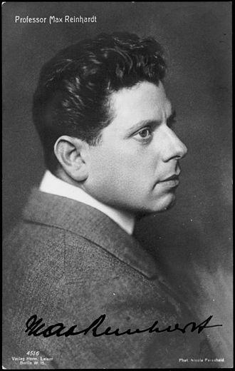 Baden bei Wien - Nicola Perscheid: portrait of Max Reinhardt in 1911