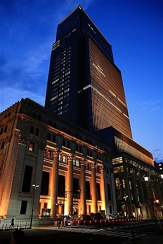 Mitsui - Mitsui Main Building and Nihonbashi Mitsui Tower