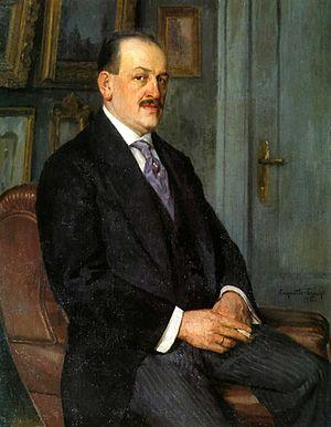 Nikolay Bogdanov-Belsky - Nikolay Bogdanov-Belsky, Self-portrait, 1915
