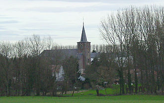 Nil-Saint-Vincent-Saint-Martin - The church of Saint Vincent
