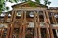 Nimitita Rajbari ruined front facade 04.jpg