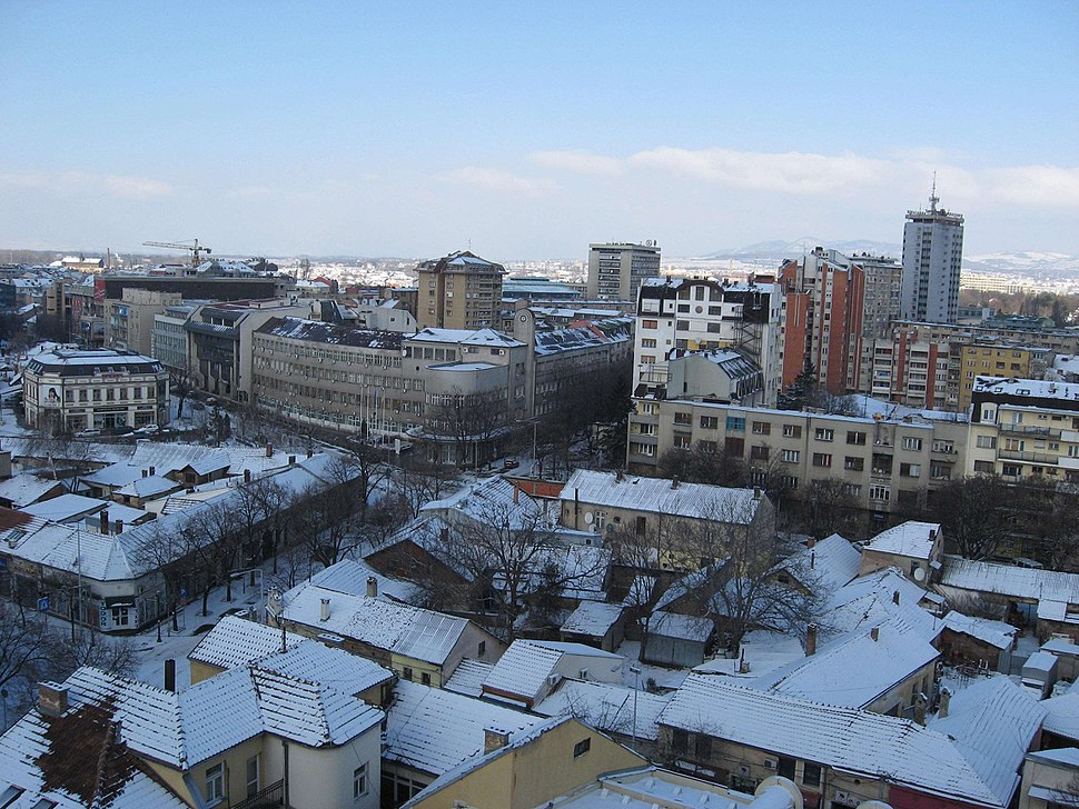 Nis pod snegom Gradska uprava