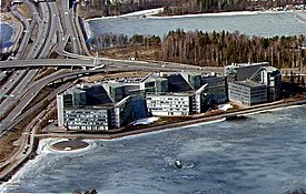 Nokia headquarters in Keilaniemi, Espoo, Finland.