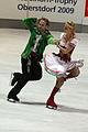 Nora HOFFMANN Maxim ZAVOZIN Nebelhorn Trophy 2009.jpg