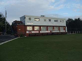 Norden Cricket Club - The club pavilion and playing field