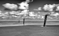 Norderney, Nordsee am Oststrand -- 2016 -- 5167 (bw) - 2.jpg