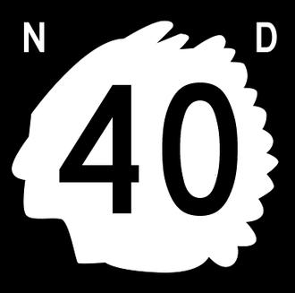 Divide County, North Dakota - Image: North Dakota 40