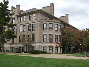 Missouri University of Science and Technology - Norwood Hall, from the southwest
