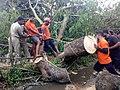 ODRAF Activity Road Clearance Cyclone Bulbul.jpg
