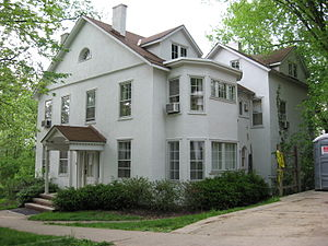 Contemporary History Institute - Brown House at Ohio University, location of the Contemporary History Insistute.