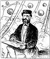 O nosso desenhista A. L. von Hoonholtz, commandante da canhoneira Araguary, passando as baterias de Cuevas e desenhando-as com o maior sangue frio.jpg