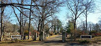 Oakland Cemetery (Sag Harbor, NY) - Image: Oakland Cemetery Sag Harbor NY Entrance