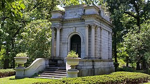Lyman Cornelius Smith - L.C. Smith memorial, Oakwood Cemetery, Syracuse, NY