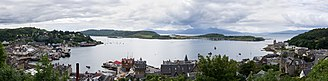 Kerrera - A view of Kerrera from Oban.