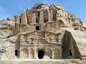 Nabataean art - Obelisk Tomb