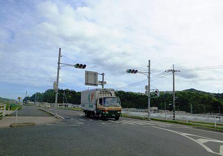 鳥取県道21号鳥取鹿野倉吉線 - W...