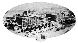 Steubenville, Ohio - Ohio Valley Clay Company, 1910