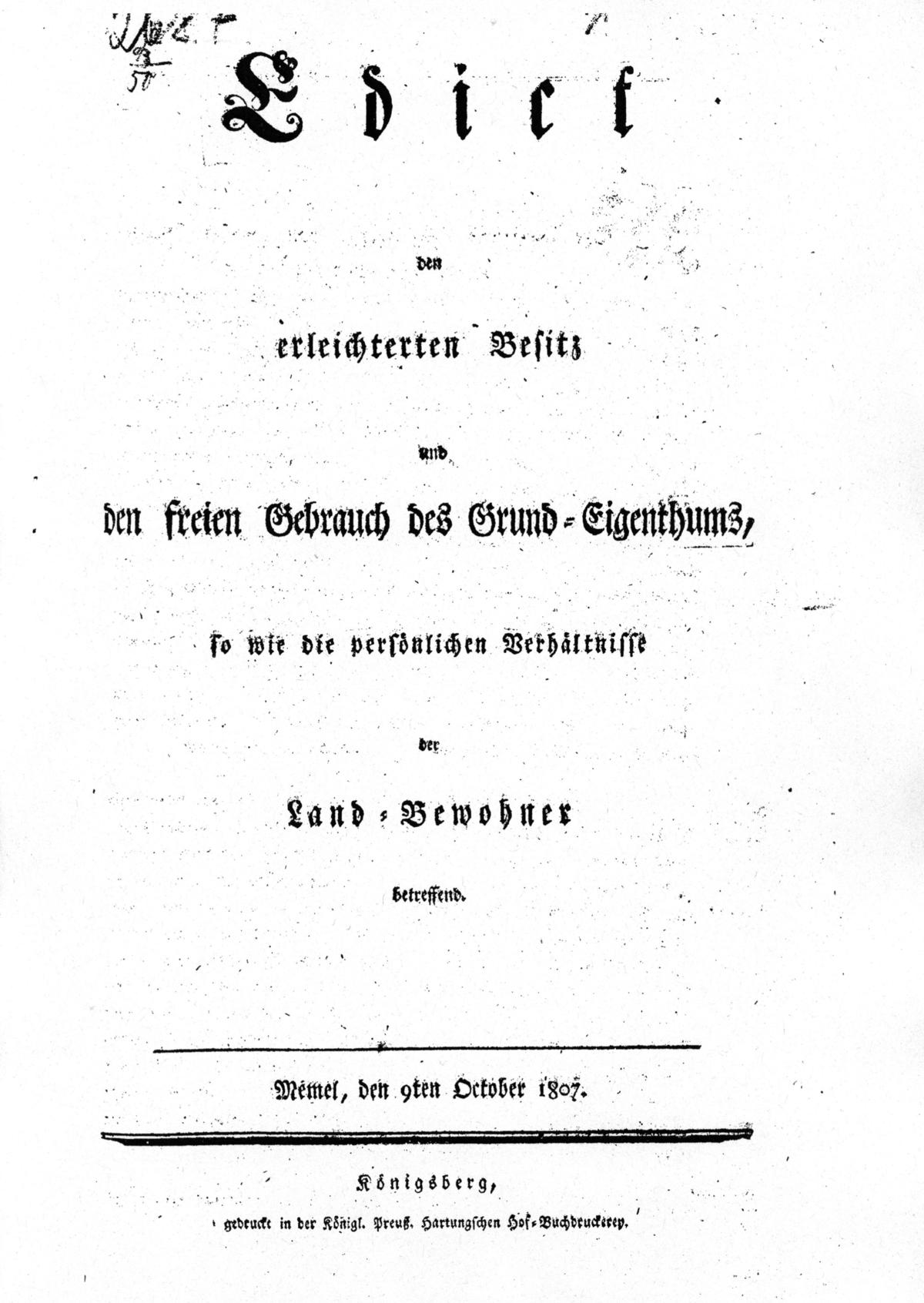 Edict deutsch