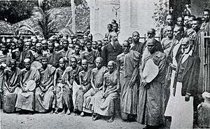 Buddhism and Theosophy - The Buddhists and Colonel Olcott in Colombo (1883)