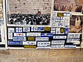 Old Jerusalem Tiferet Israel street Displays for sale stickers.JPG