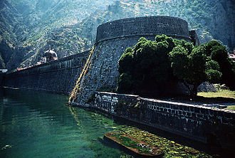 History of Montenegro - Kotor (City wall)