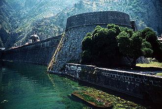 History of Montenegro - Kotor (City wall)
