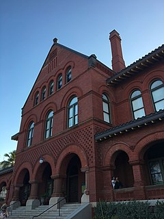 Old Post Office and Customshouse (Key West, Florida) museum in Key West, Florida, USA