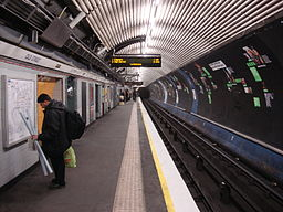 Old Street northbound Nothern line