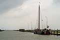 Old transport ship in the smallest sea going harbour of the Netherlands.jpg