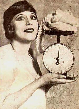 Olive Ann Alcorn - Alcorn noting that her costume for a 1922 revue in San Francisco weighs only three ounces
