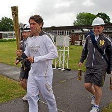 Olympic Torch 2012 at Jodrell Bank 2.jpg