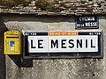 Omerville (95), plaque Michelin au hameau du Mesnil 1.JPG