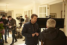 "On set of ""Finding Your Feet"".jpg"