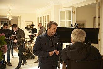 "Nick Moorcroft - Image: On set of ""Finding Your Feet"""