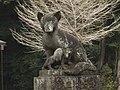 Onabake-jinja Kitsune statue2 right.jpg