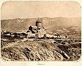 One of the oldest photos of Mtskheta and Svetitskhoveli (1858).jpg