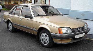 Opel Rekord Motor vehicle