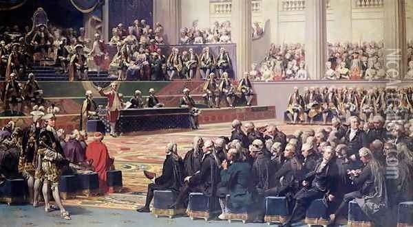 Opening of the Estates General at Versailles on 5th May 1789