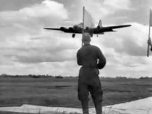 Operation Frantic - B-17s arriving at Poltava, 2 June 1944.
