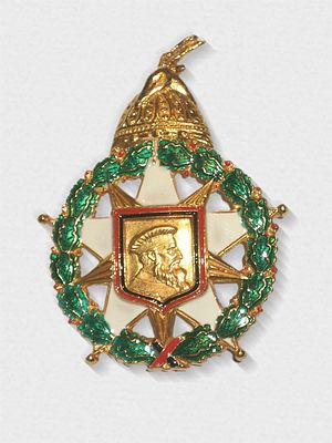 Order of Skanderbeg (1990–) - Image: Order of Skanderbeg medal