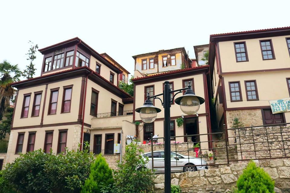 Ordu wooden houses