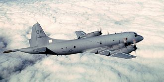 Poland, Maine - P-3 Orion similar to the one which fell on Tripp Corner.