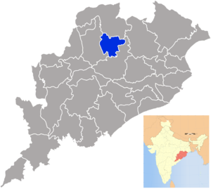 Debagarh district - Image: Orissa Deogarh