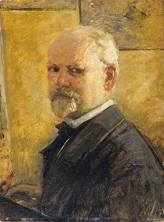 Oscar Wergeland - Portrait of Oscar Wergeland
