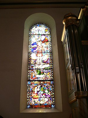 Oslo Cathedral - Stained glass window