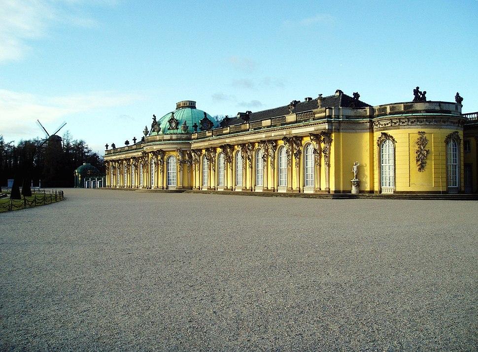 Ostteil Sanssouci
