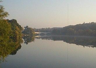 Otonabee River - The Otonabee River in Peterborough, Ontario